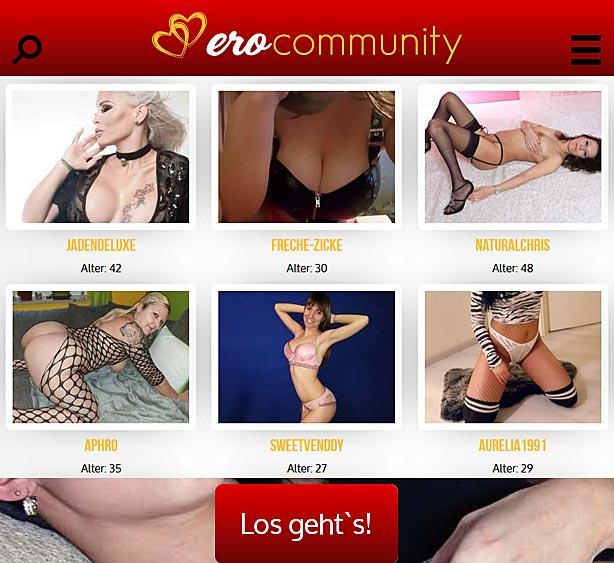 Erocommunity - die Erotikcommunity